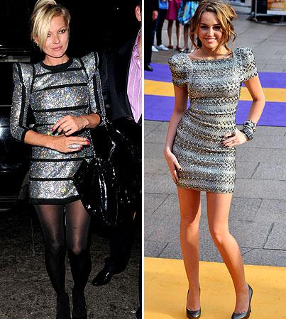 Fashion Showdown: Miley Cyrus and Kate Moss