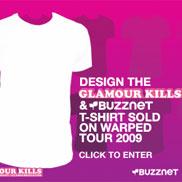 Glamour Kills & Buzznet T-Shirt Design Contest