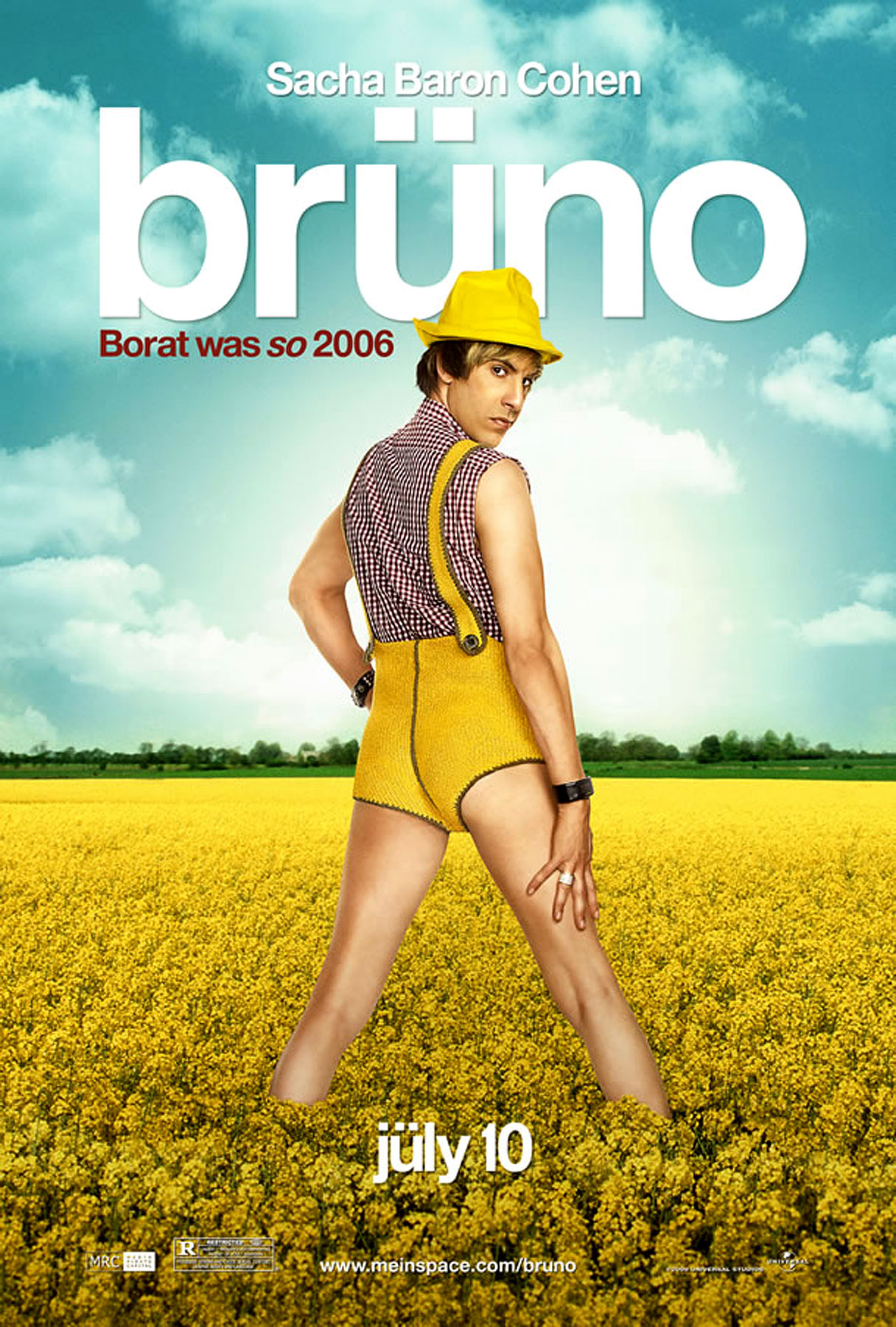 Bruno Shorts Himself in New Movie Poster