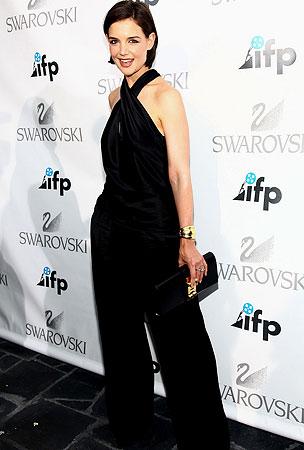 Katie Holmes: Back in Black!