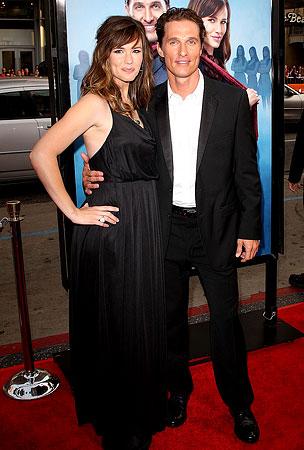 Garner and McConaughey Talk Twitter At 'Ghosts' Premiere