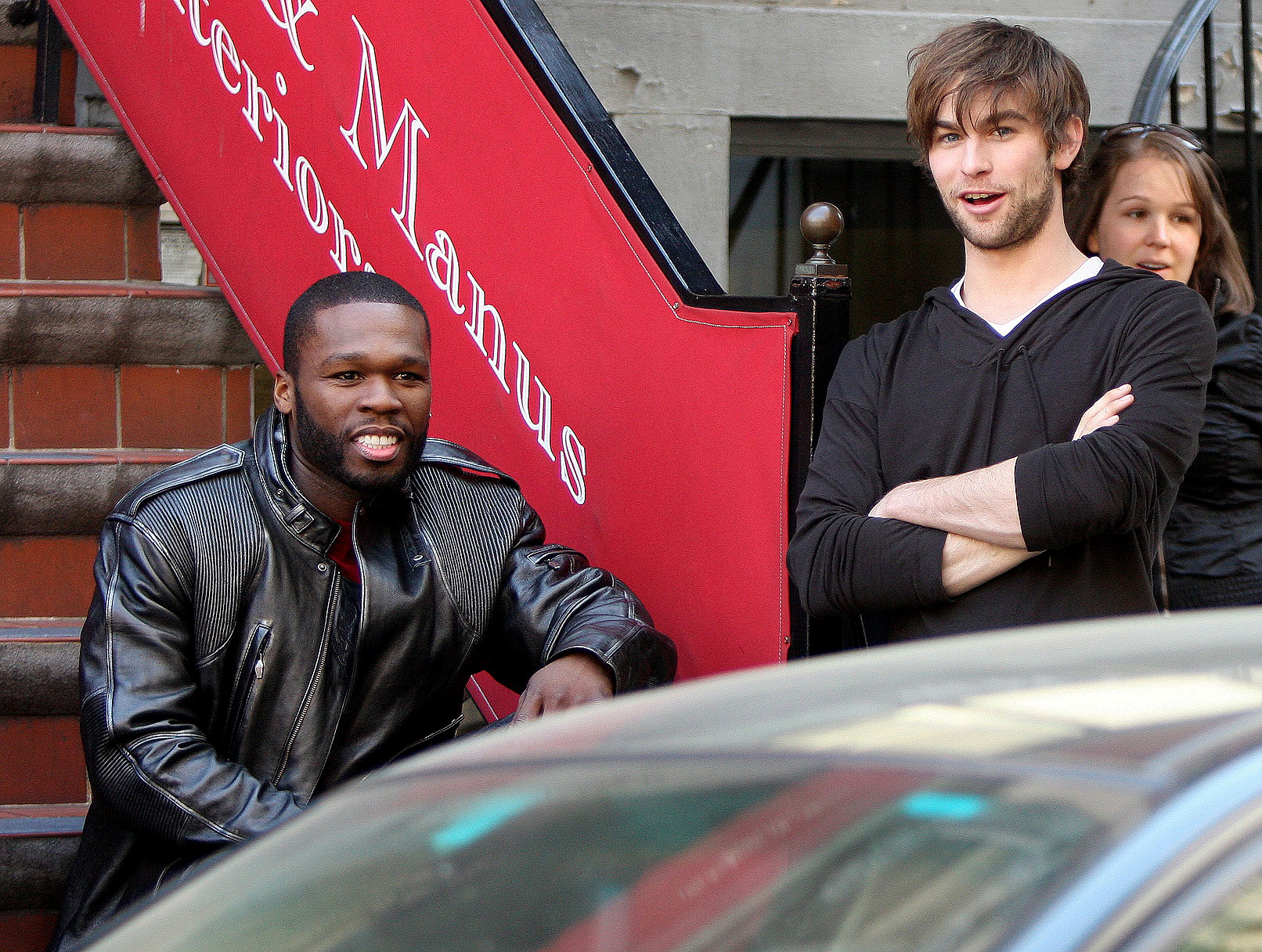Chace Crawford and 50 Cent: Two for 'Twelve'