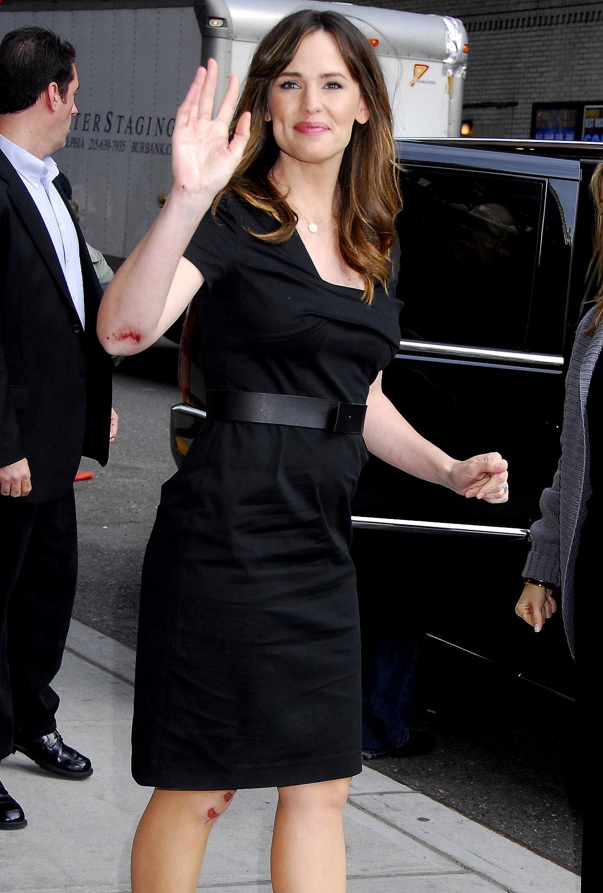 Jennifer Garner Gets the David Letterman Treatment