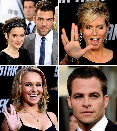 Everyone Shows Up For The 'Star Trek' Premiere