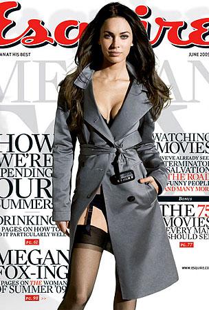 Megan Fox Has Esquire Covered