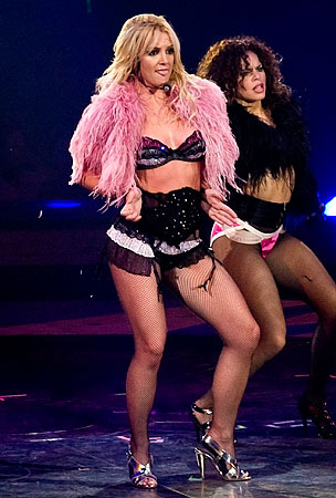Britney Spears Needs Some Air