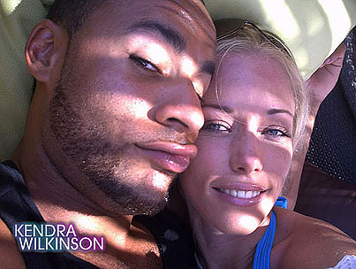 Kendra Wilkinson and Hank Baskett Experience a Higher Love