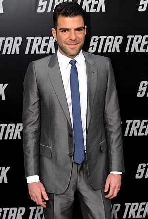 Zachary Quinto: Not Very Handy as Spock