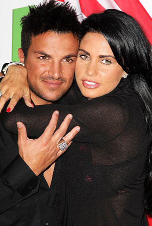 Katie Price vs. Peter Andre: It's On!