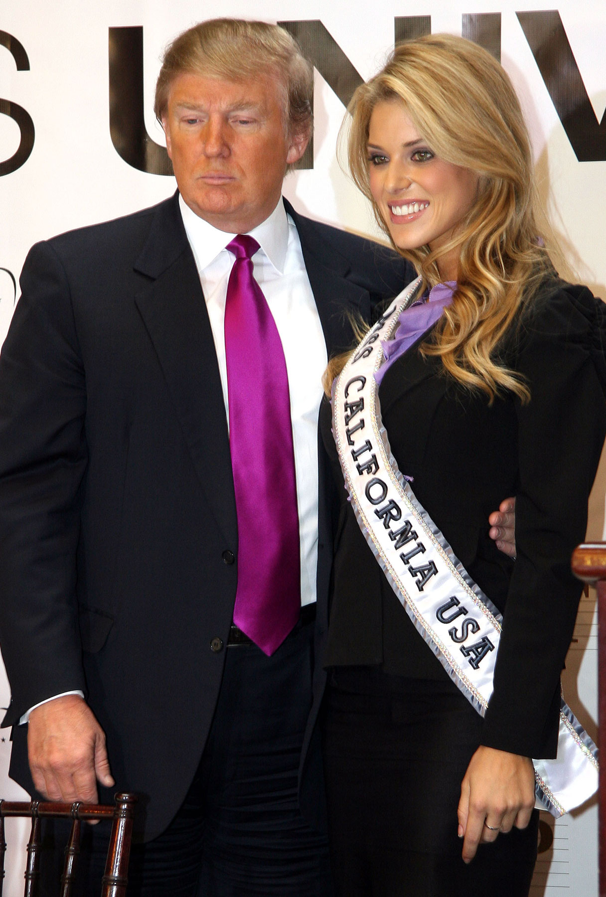 Donald Trump Gives Miss California a Pass