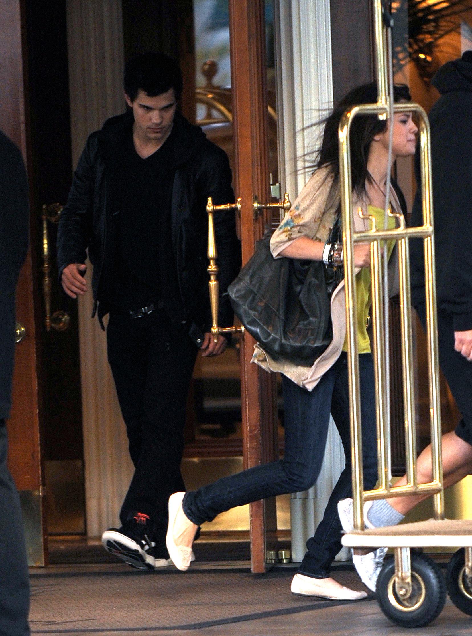 Taylor Lautner and Selena Gomez: Meet the Parents