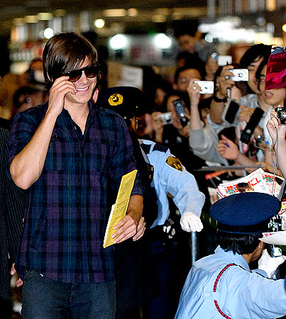 Zac Efron: Who Are Those Masked Fans?