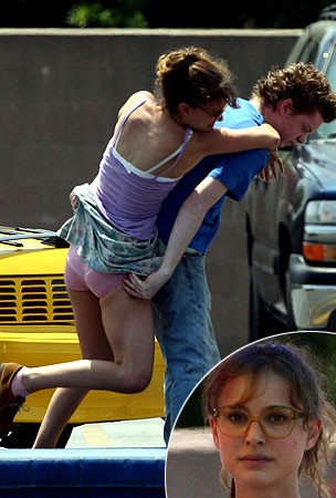 Natalie Portman Flashes Her Panties