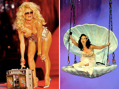 Pam Anderson and Katy Perry Get Freaky for a Good Cause