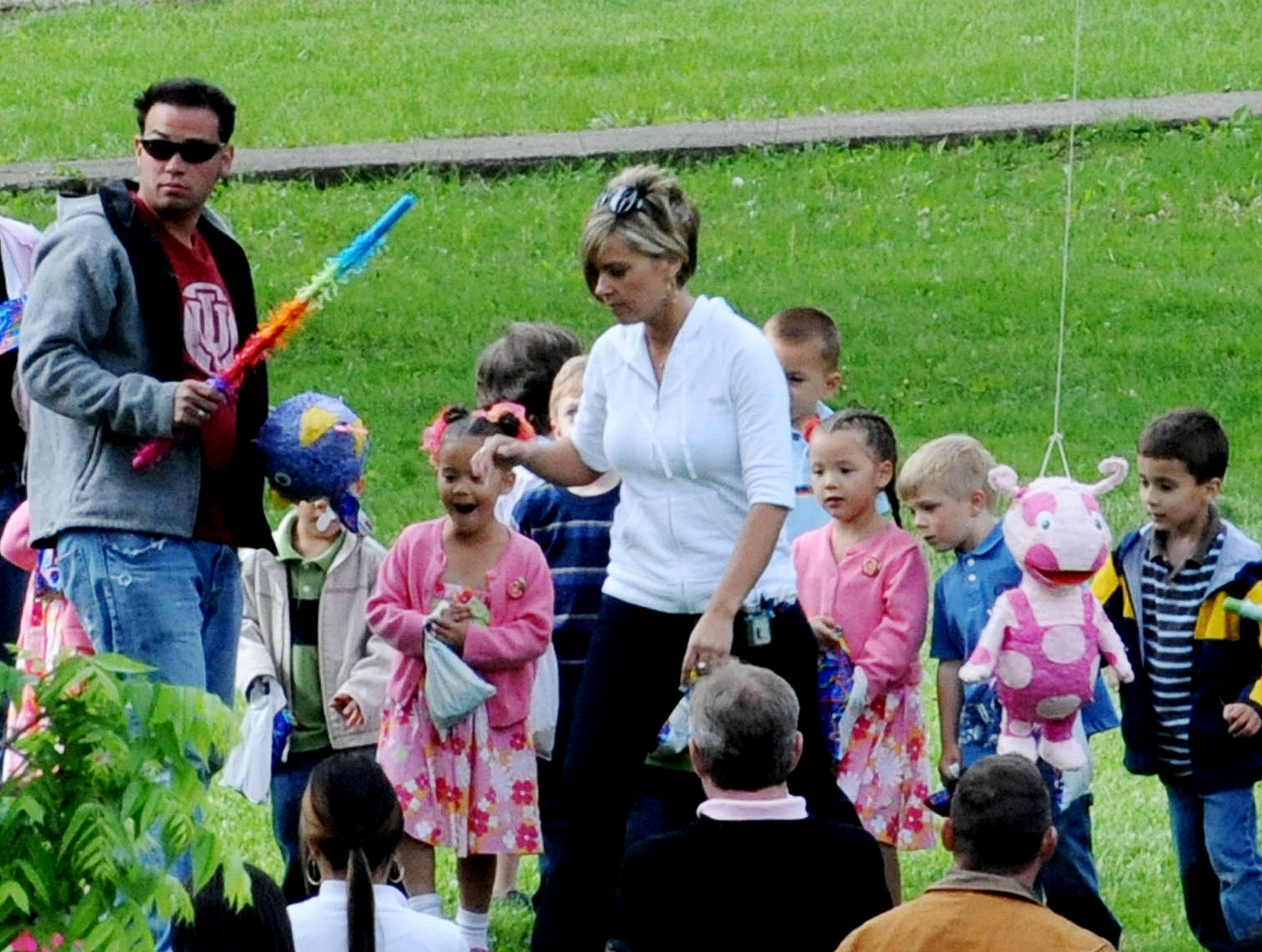 Jon and Kate Gosselin Snub Each Other at Their Kids' Birthday Party