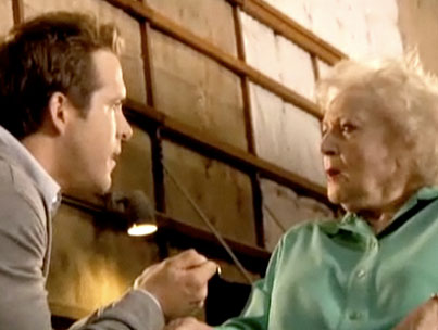 VIDEO: Betty White Gives Ryan Reynolds a Stern Talking-To