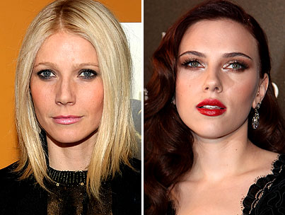 Gwyneth Paltrow and Scarlett Johansson Aren't Getting Along