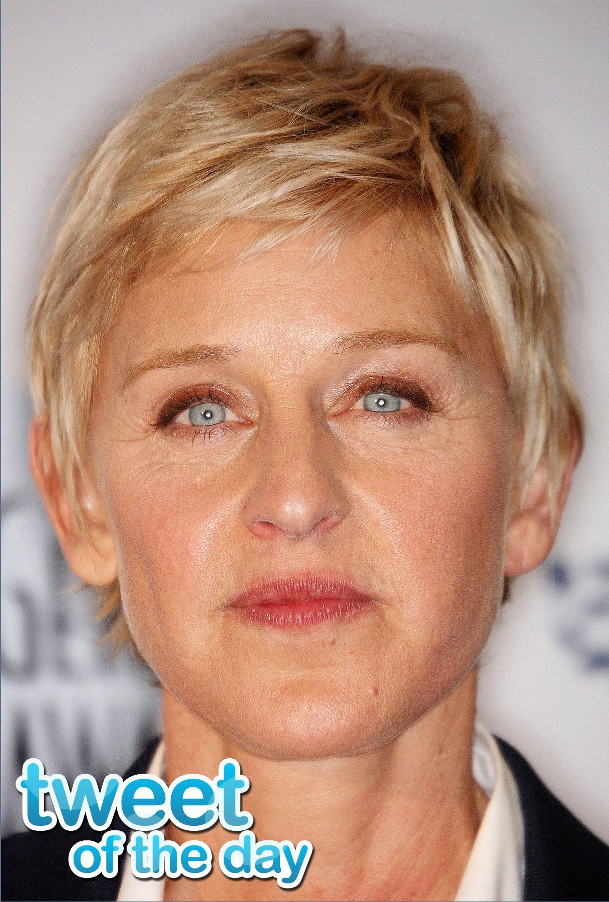 Tweet of the Day: Ellen DeGeneres Predicts 'Idol' Winner