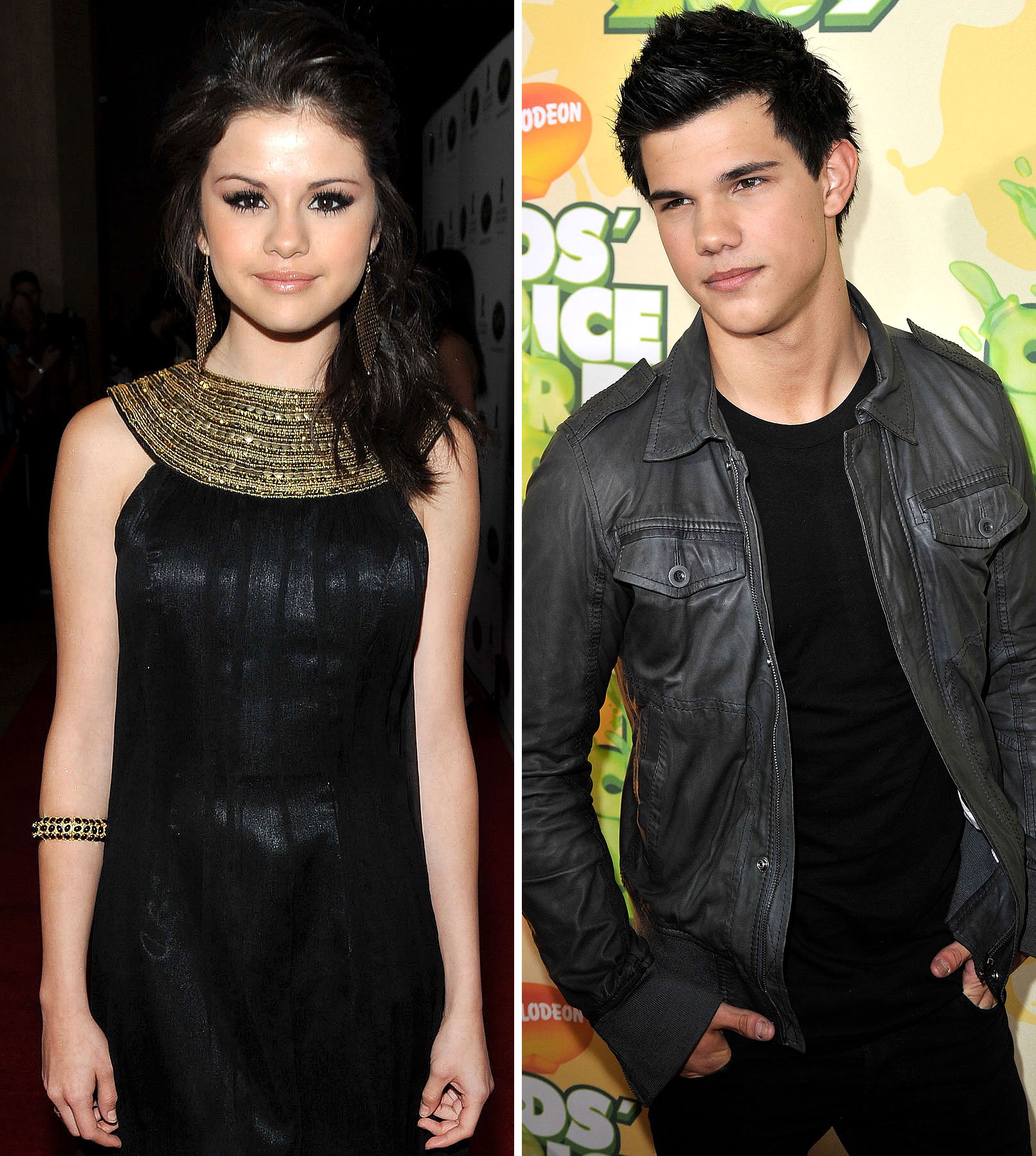 Taylor Lautner and Selena Gomez Caught Kissing!