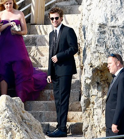 Robert Pattinson Displays His Cannes-Do Attitude
