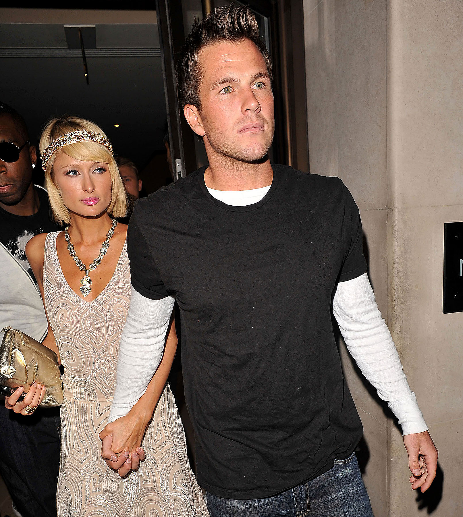 Paris Hilton And Doug Reinhardt Make Out, Get Kicked Out Of Party