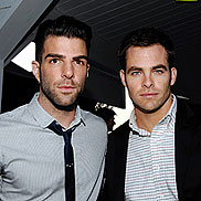 VIDEO: Zach Quinto and Chris Pine Make Sweet Music