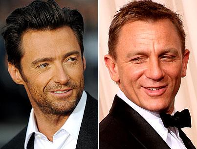 Hugh Jackman and Daniel Craig: Broadway Buds-to-Be