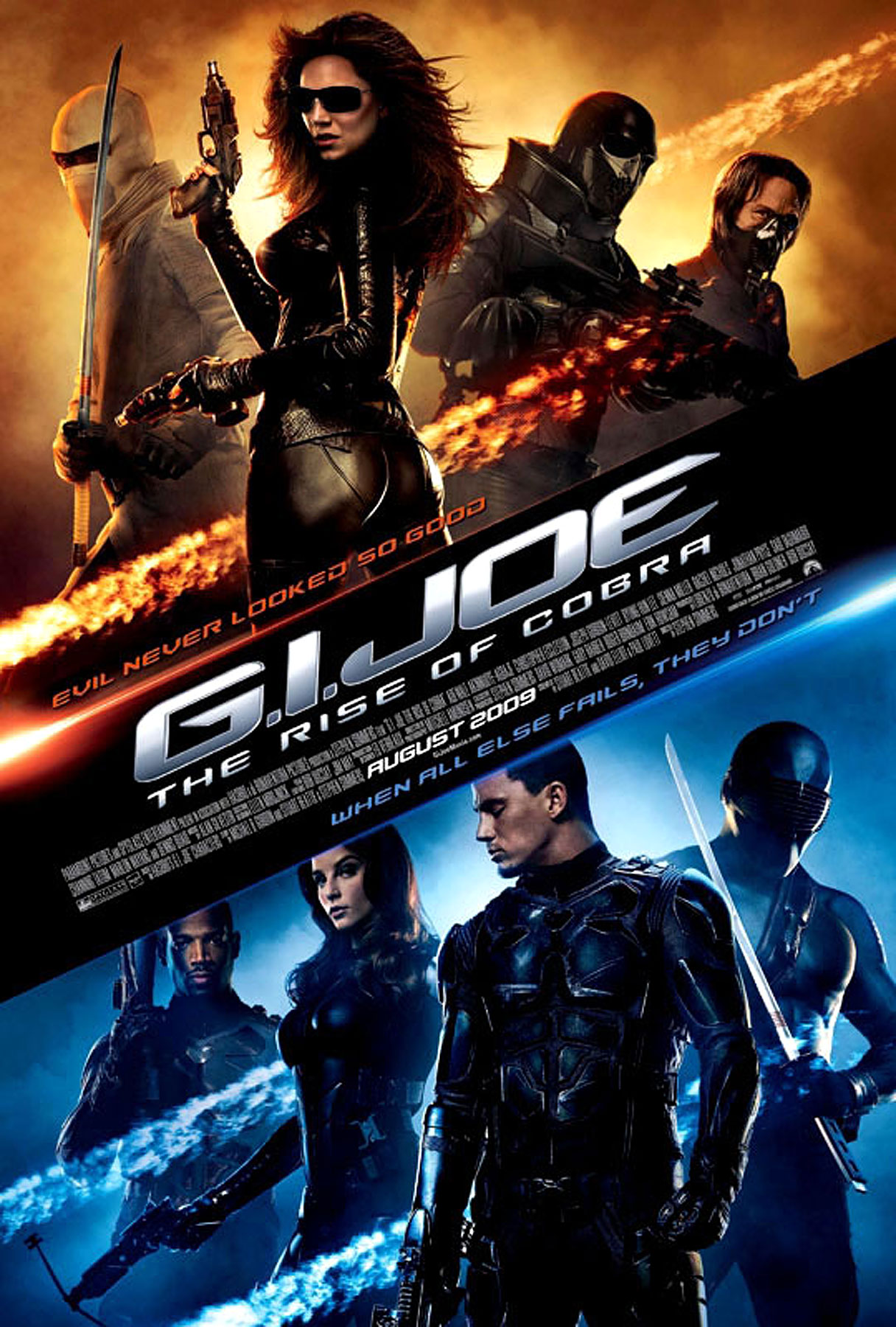 G.I. Joe: The Rise of Cobra—New Poster and Trailer