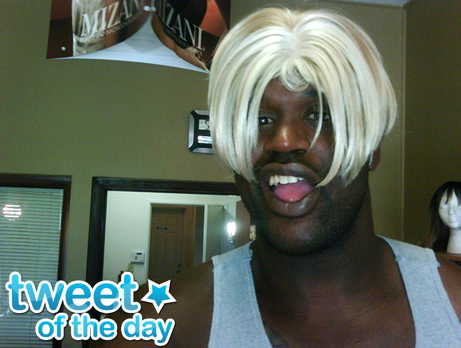 Tweet Of The Day: Shaq's New Haircut
