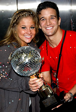 Shawn Johnson's Ball Is Busted