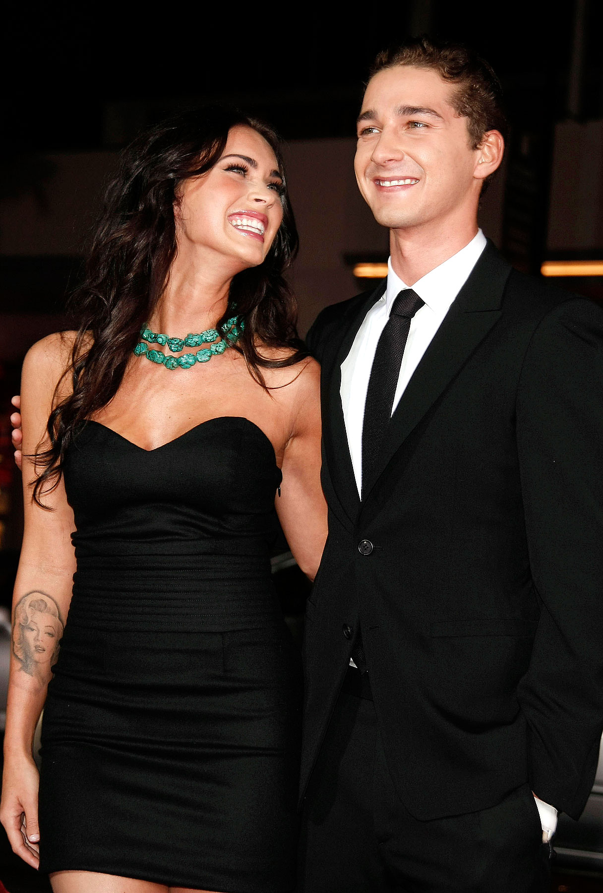 Megan Fox Talks Making Out With Shia LaBeouf