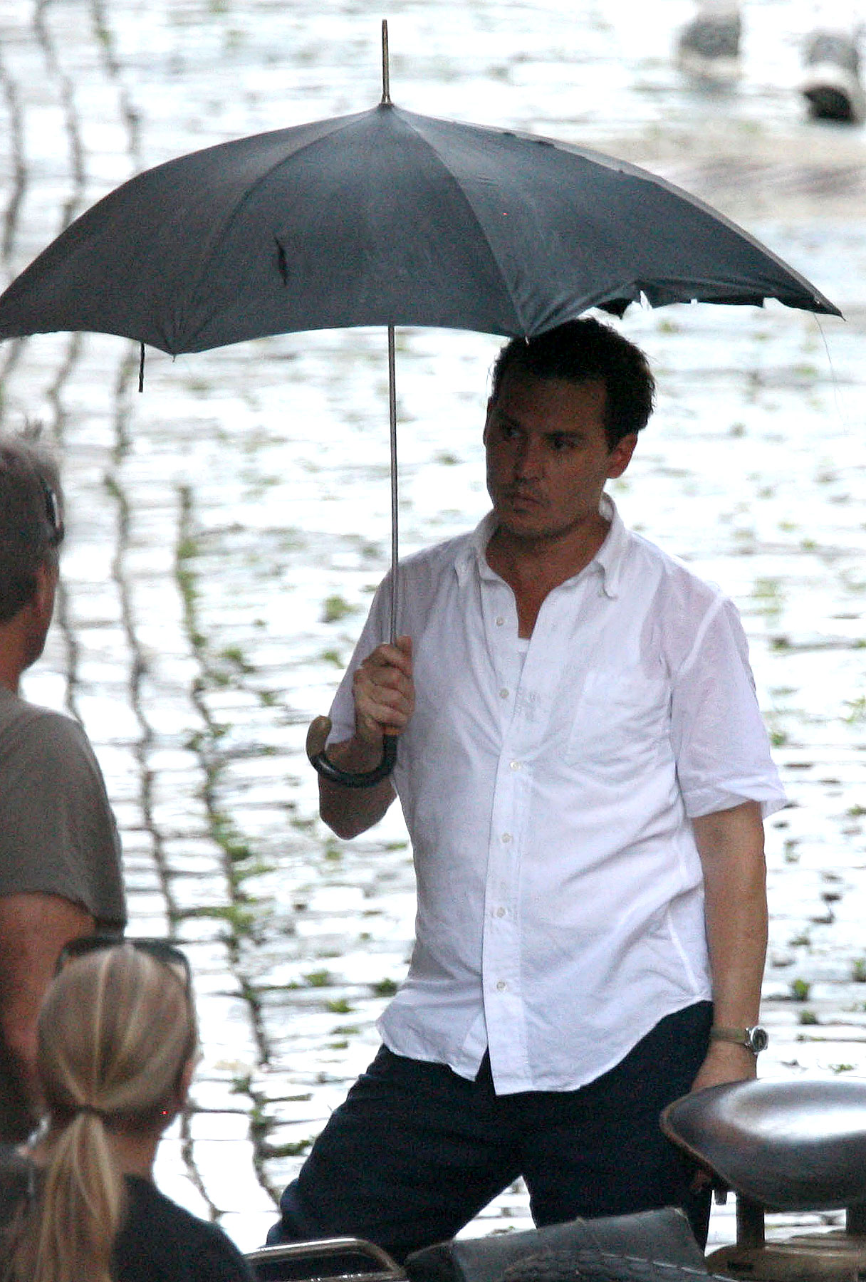 Johnny Depp Gets Rum-Soaked