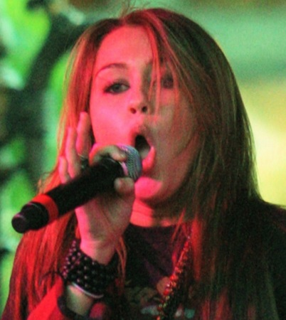 VIDEO: Miley Cyrus Joins Mitchel Musso for Free Concert