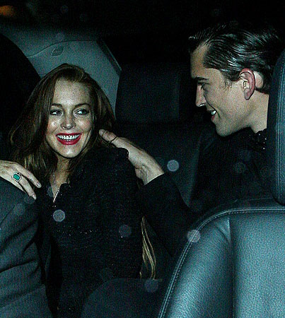 Lindsay Lohan: So Who's the New Fella…?