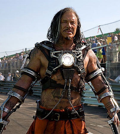 FIRST LOOK: Mickey Rourke in 'Iron Man 2′