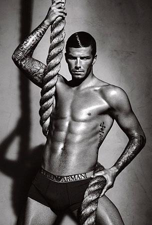 Yep, David Beckham's Hanging Around in His Underwear Again