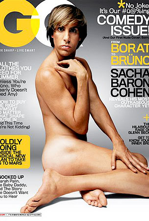 Bruno Strips Down For 'GQ'