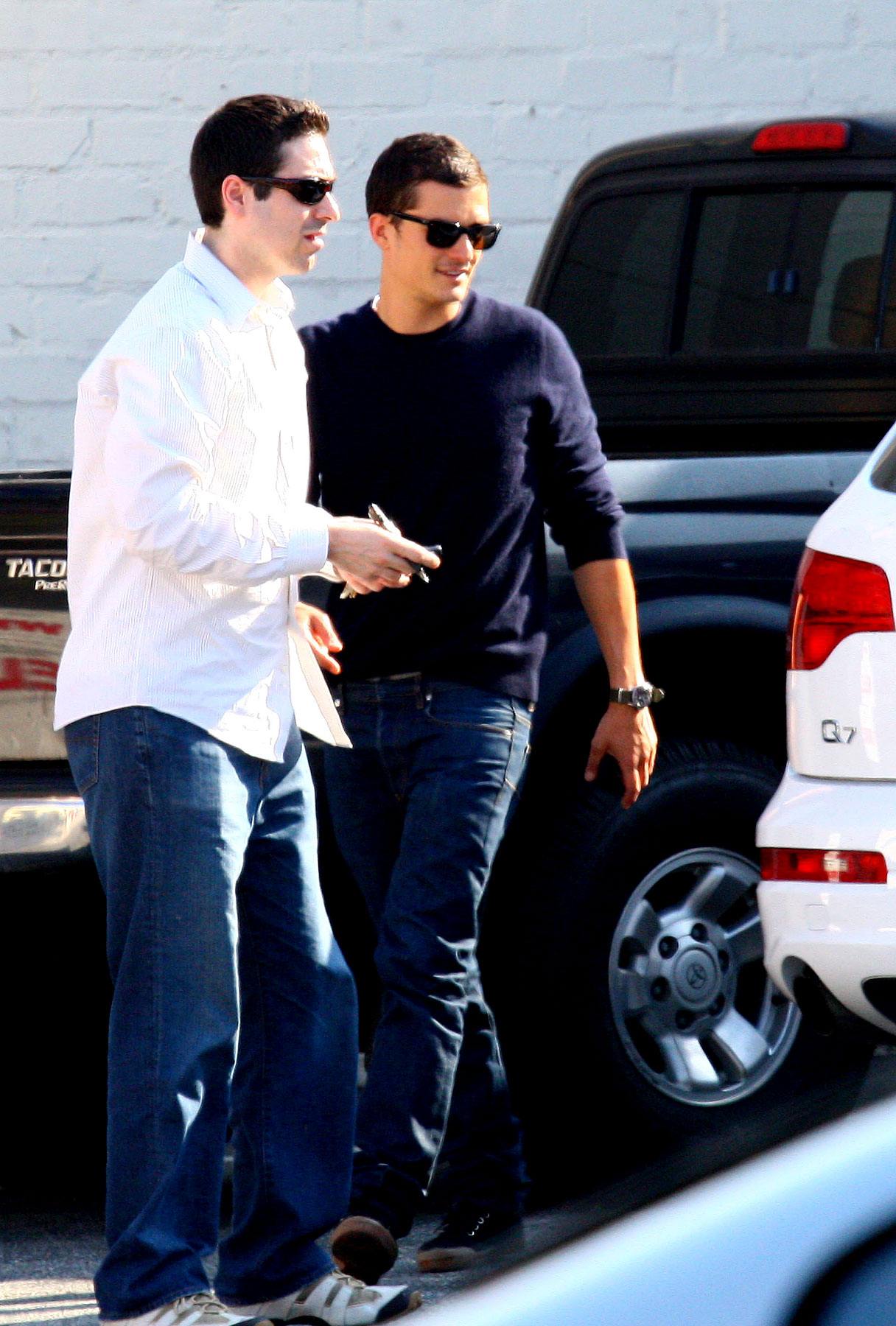 Orlando Bloom Gets Rear-Ended By Another Dude