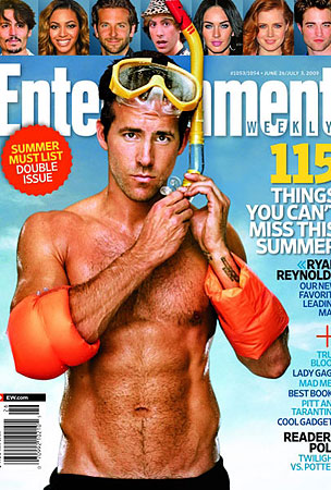 Ryan Reynolds Has Got His Abs Covered