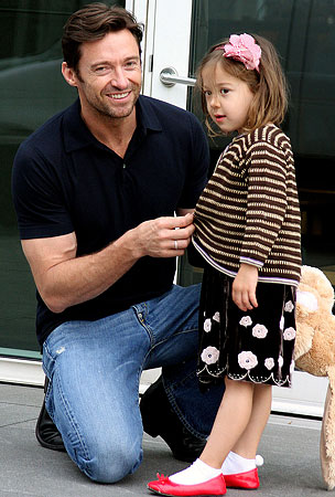 Hugh Jackman: Celebuzz's 2009 Father of the Year