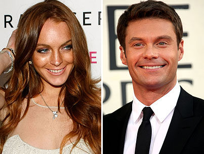 Lindsay Lohan and Ryan Seacrest Are About to Get Real, Y'all