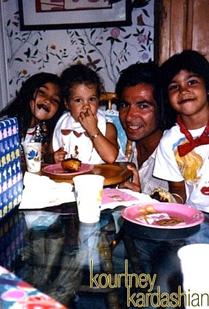 Kourtney Kardashian Offers Food for Thought on Father's Day