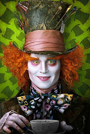 First Look At Johnny Depp In 'Alice In Wonderland'