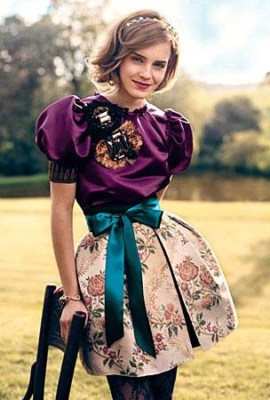 Emma Watson Covers 'Teen Vogue'