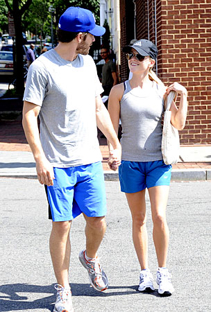 Reese Witherspoon and Jake Gyllenhaal: Twinsies!