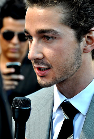 VIDEO: Shia LaBeouf At The 'Transformers 2′ Premiere