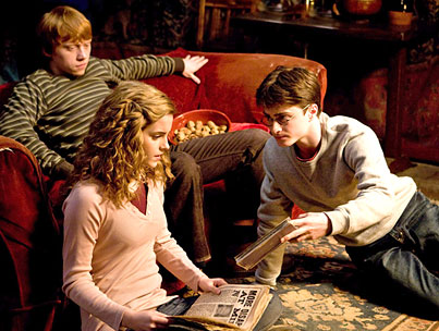VIDEO: New 'Harry Potter and the Half-Blood Prince' Clip