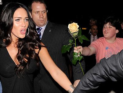 $5,000 Reward Offered for Megan Fox's Scorned 'Rose Boy'