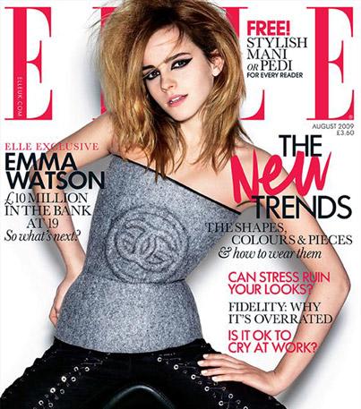 Emma Watson Covers 'Elle'