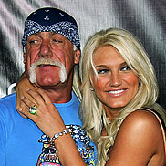 Hulk Hogan Hypes it Up for His Brooke-tini